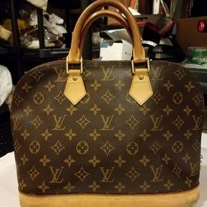 Authentic Louis Vuitton Monogram Alma PM Handbag